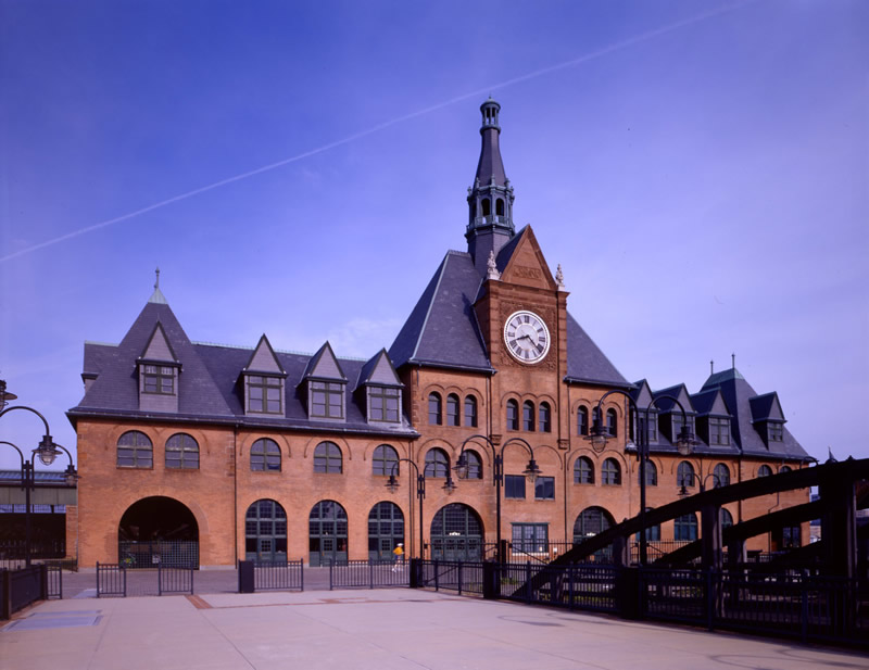 Central Railroad Of New Jersey Terminal Building
