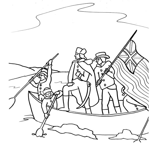 wawayanda washington crossing - Passport Coloring Page