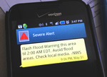 Sign up to receive NWS alerts on your phone.