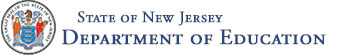 State of New Jersey Department of Education Logo