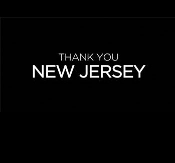 Thank You New Jersey