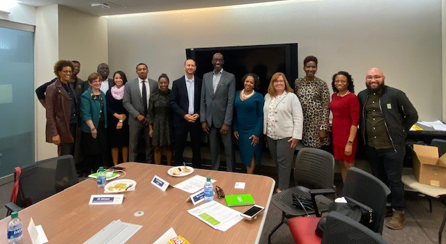 Members of New Jersey's innovation ecosystem during the State's inaugural Founders & Funders Diversity Roundtable discussion.
