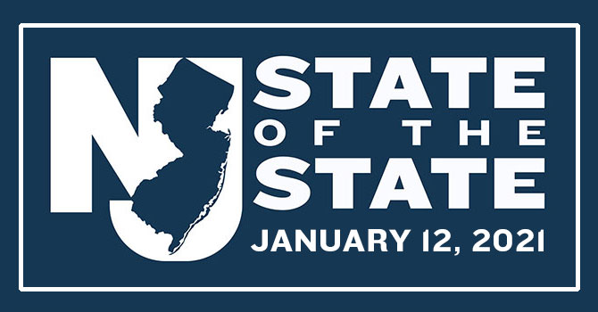2021 State of the State Address Tuesday, January 12, 2021