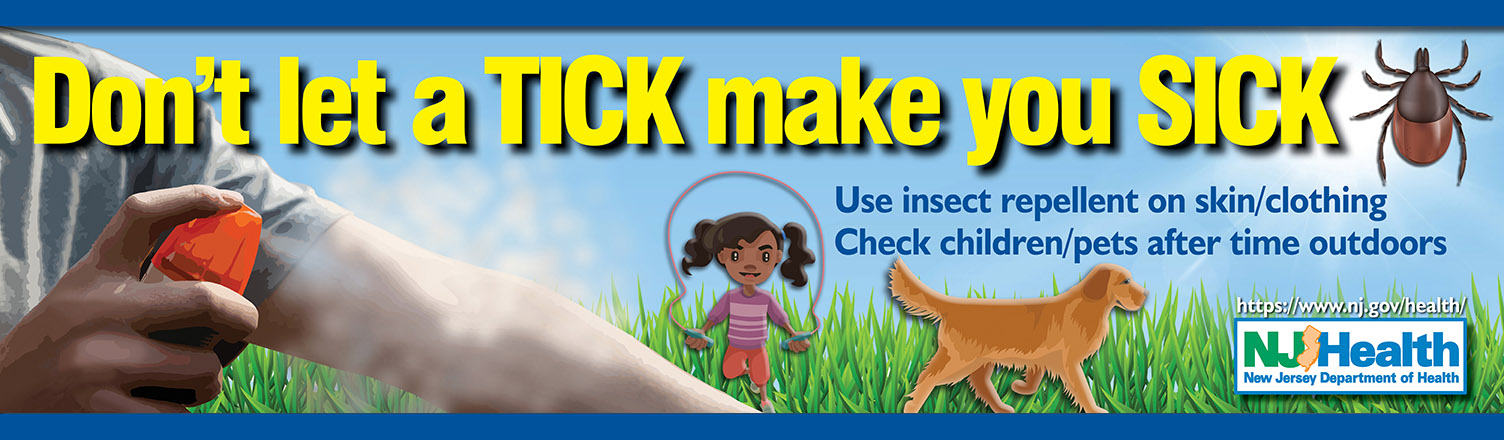 Don't let a tick make you sick this season! Prevent tick bites when spending time outdoors.