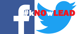 Follow #kNOwLEAD on Social Media