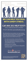 We Can Help You With Sandy Stress