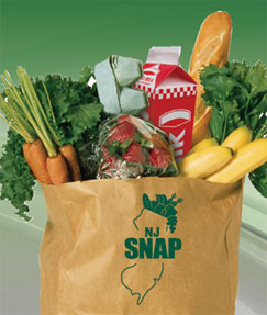 SNAP grocery bag