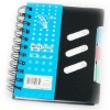coated vinyl plastic notebook
