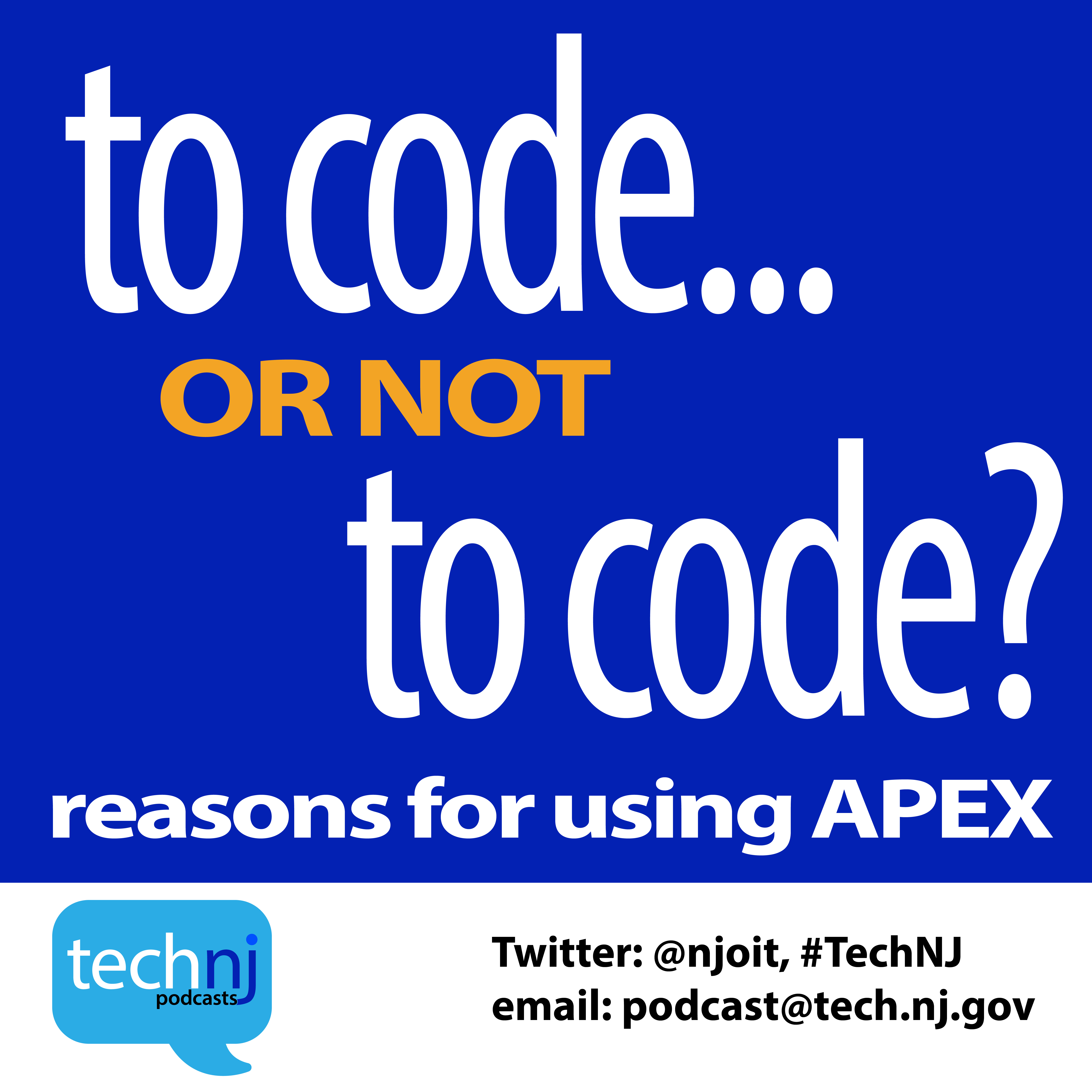 Season2; Apex - To Code OR Not To Code