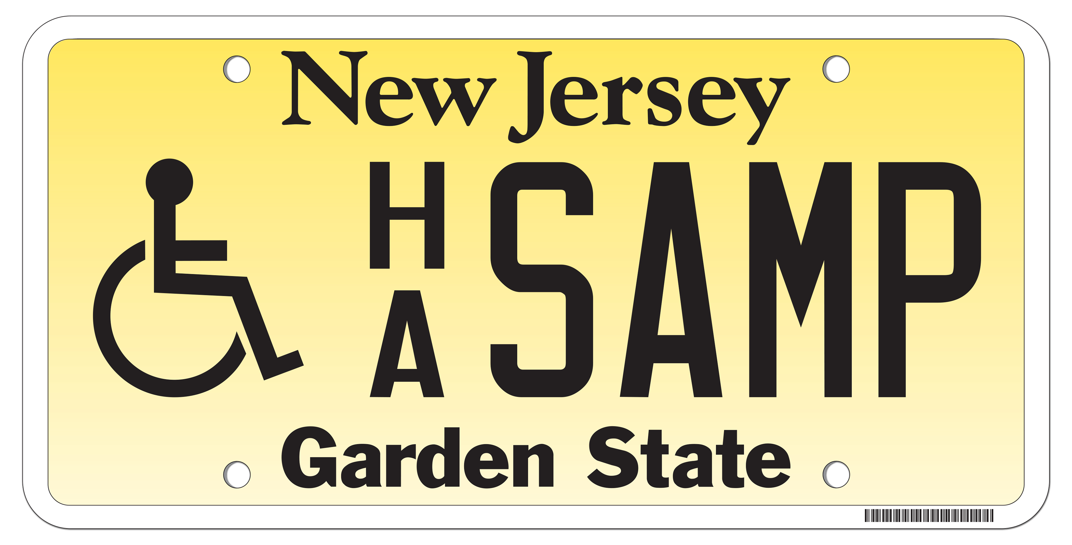 New jersey motor vehicle commission wheelchair symbol plates and general information biocorpaavc Choice Image