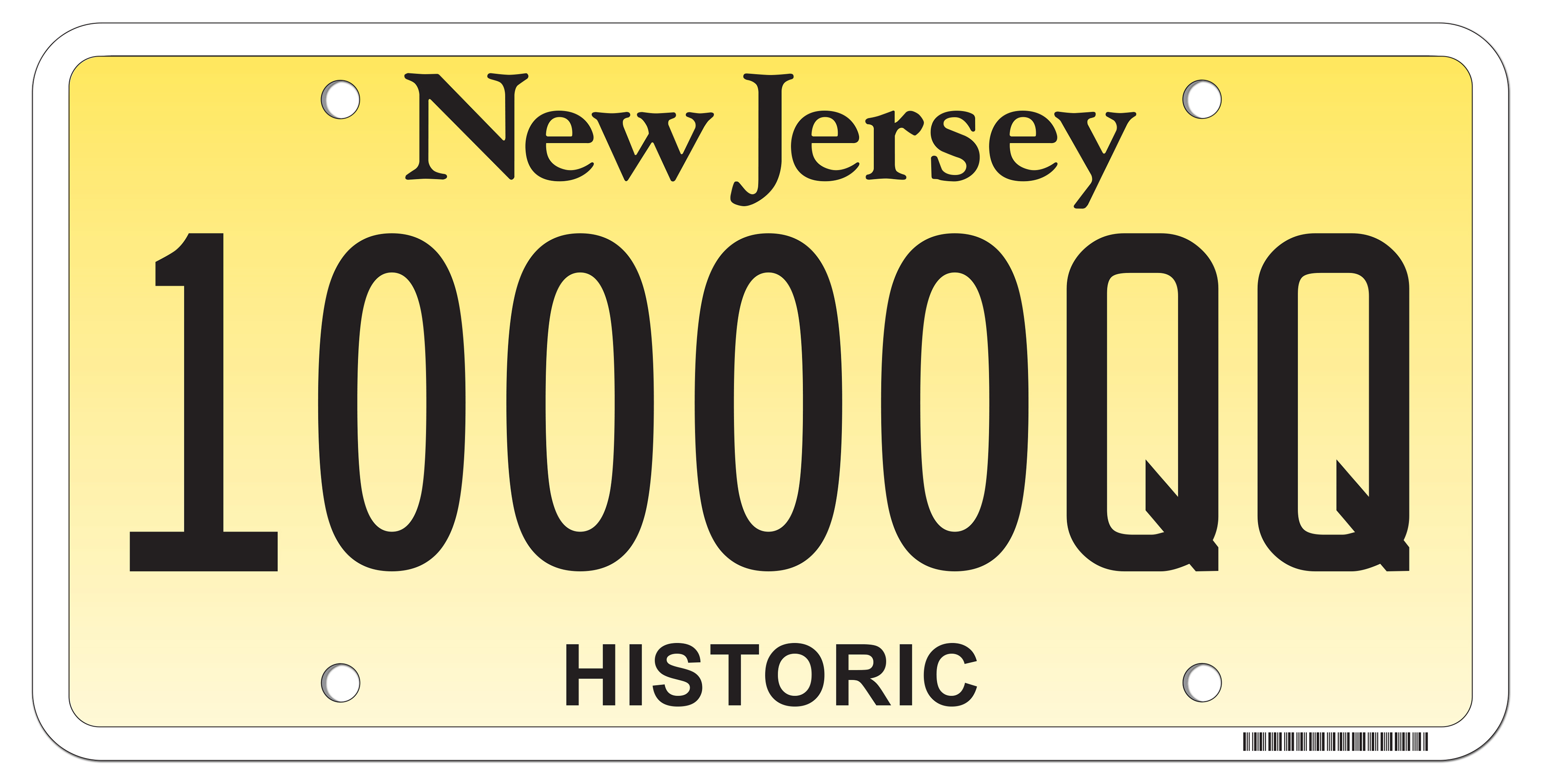 New Jersey Motor Vehicle Commission - Historic and Street Rod