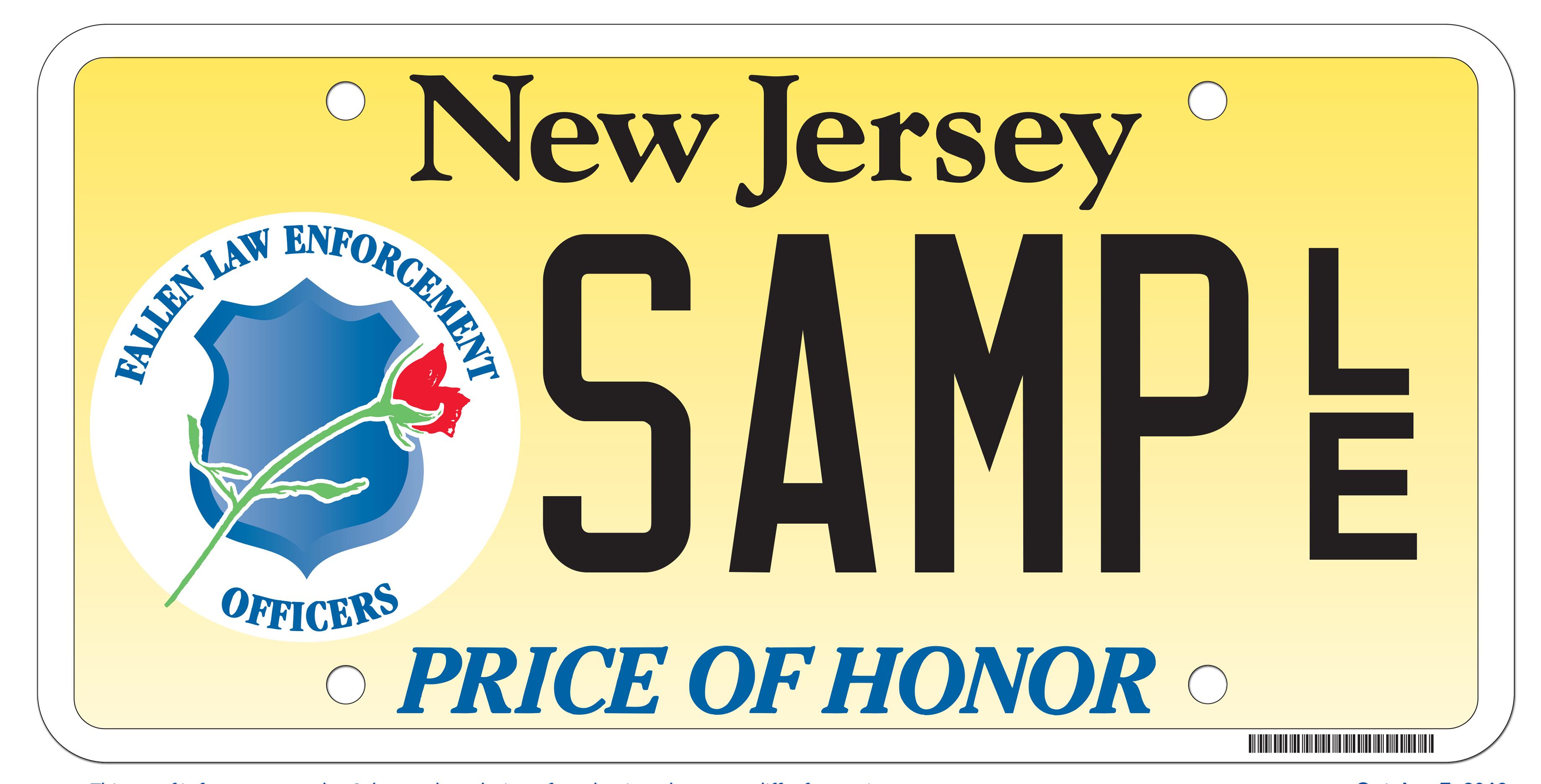 NJ MVC | Law Enforcement Memorial