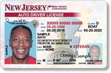 new jersey drivers license renewal military