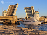 Shark River Inlet Drawbridge, Belmar NJ