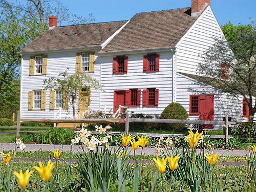 The John Abbott II House (circa 1730) Historic Site, Mercer County