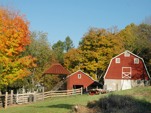 A farm in Warren County