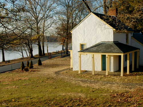 The Nelson House on the Delaware at Washington's Crossing, Mercer County