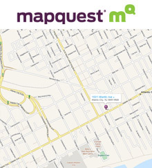 MapQuest Map