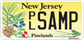 Graphic: New Jersey Pinelands themed license plate