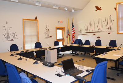 Pinelands Commission meeting room