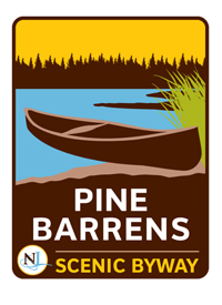 Pine Barrens Byway sign