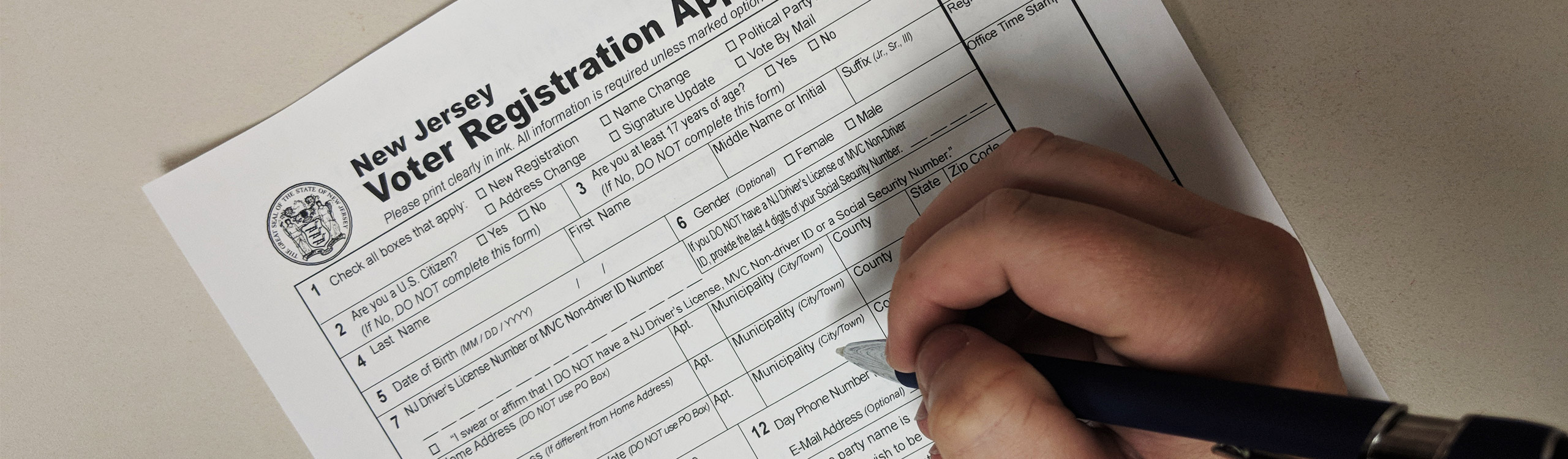 Nj Dos Division Of Elections Register To Vote