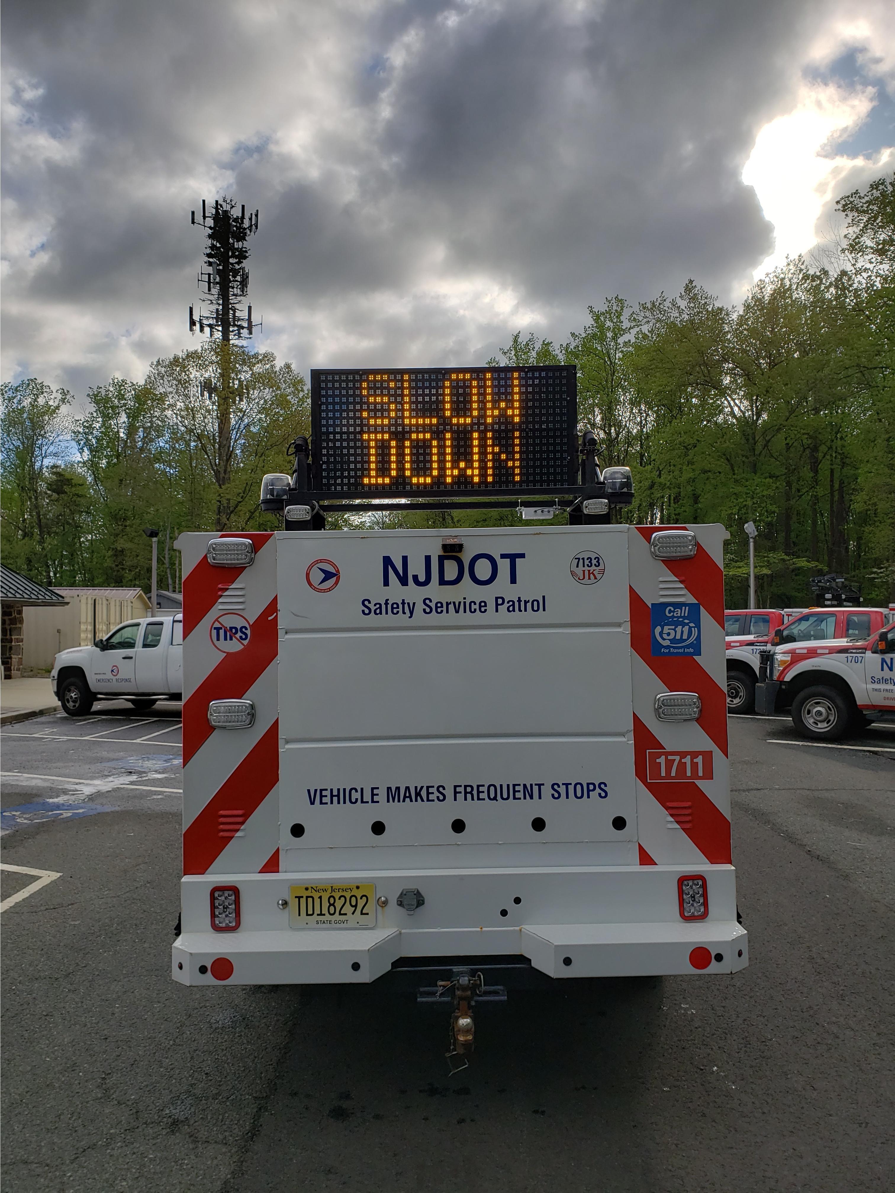Roadside Tire Service >> Motorist Assistance in New Jersey, Safety Service Patrol, Commuter Information