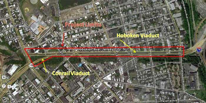 Pulaski Skyway, Contract 2, Construction Updates, Commuter Information
