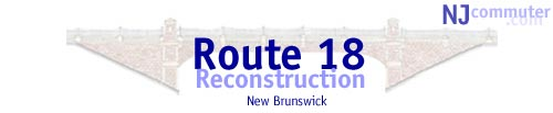 route 18 reconstruction graphic
