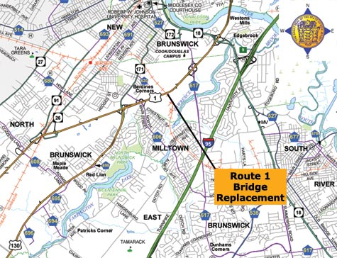 Route 1 Bridge Replacement, Overview, Construction Updates