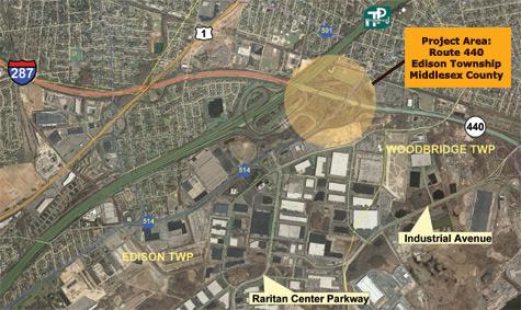 Route 440 Improvement Project, Overview, Construction
