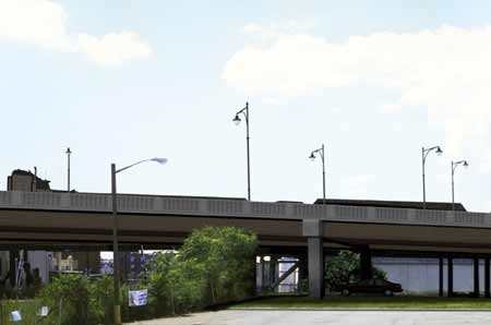 proposed bridge at west side avenue rendering