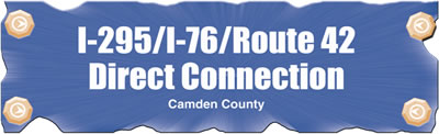 I-295/I-76/Route 42 Direct Connection, Overview