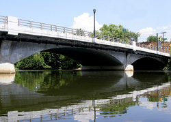 The Monroe Street Bridge over the Rahway River in Union County will be replaced photo.