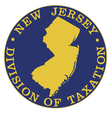 State Of Nj Department Of The Treasury Division Of Taxation