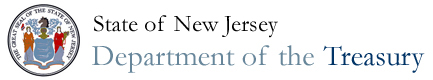 The Official Web Site For The State of New Jersey - Department of Treasury